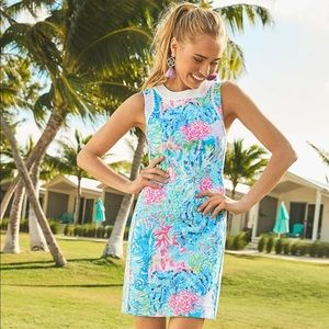 Mila Stretch Shift Dress